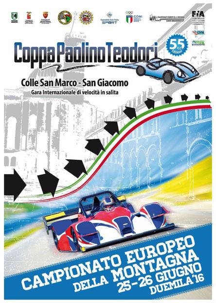 """Il 25 e 26 Giugno 2016, si svolgerà la storica Cronoscalata San Marco-San Giacomo, """"Coppa Paolino Teodori"""""""
