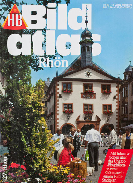 Travel guide about the landscape Röhn