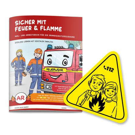 Brandschutzerziehung für Kinder - Sicher mit Feuer & Flamme