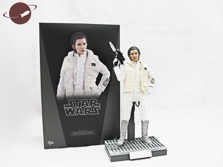 Hot Toys Princess Leia Hoth Outfit Sixth Scale Figure Unboxing Review FANwerk