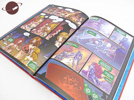 inhumans comic ausschnitt marvel superhelden-sammlung