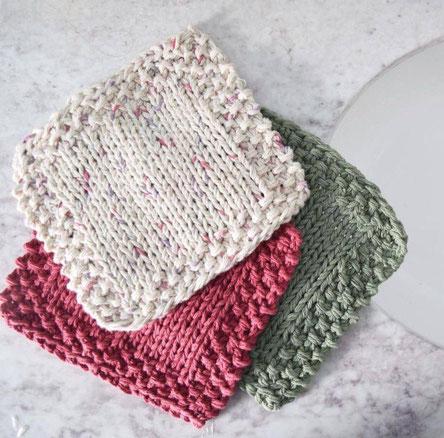 Linge à vaisselle en tricot - Cliquez sur la photo pour en savoir plus