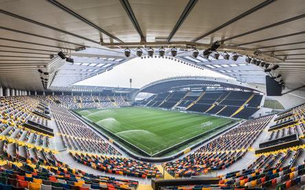Stadio Friuli in Udine