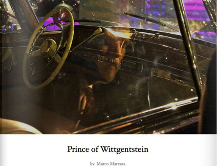 """Prince of Wittgentstein"" book by Marco Marezza"