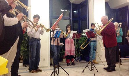 """Musikalisches Rahmenprogramm zum Gemeindefest """"Kaffee im Advent"""""""