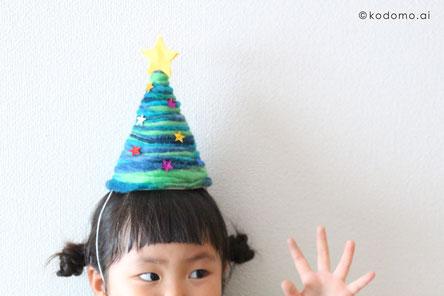 パーティーなどテーブルに飾っておいたオブジェが帽子になると嬉しいね!