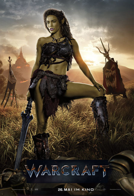 Warcraft Film - Paula Patton as Garona - Universal - kulturmaterial
