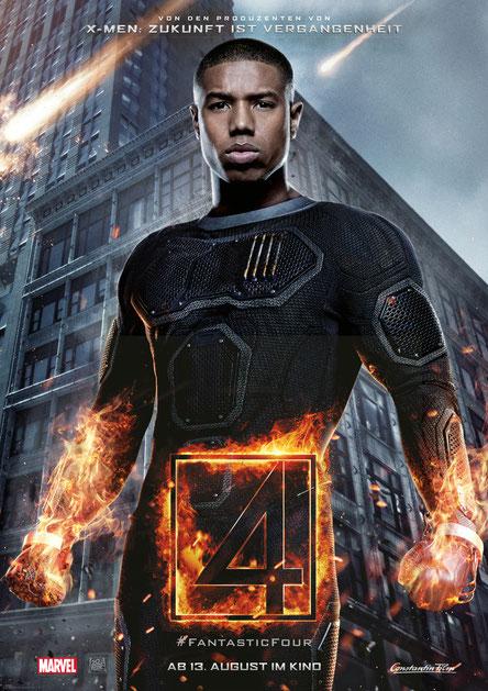 Fantastic Four Gewinnspiel - Johnny Storm - Marvel - Constantin - kulturmaterial