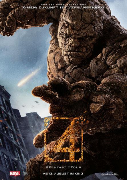 Fantastic Four Gewinnspiel - Ben Grimm - Marvel - Constantin - kulturmaterial