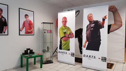 Einige professionelle Dartspieler sind auch bei uns zu Gast :-)