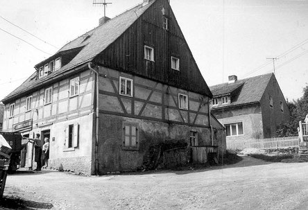 Bild: Teichler Wünschendorf Erzgebirge Konsum DDR