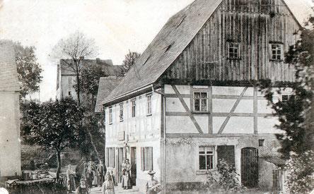 Bild: Wünschendorf Erzgebirge Preißlers Kolonialwarenladen