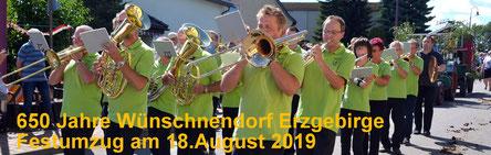 Bild: Wünschendorf Festumzug 65o Jahre