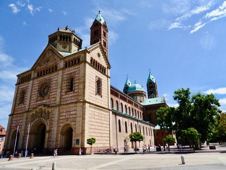 Städtereise  Sehenswürdigkeiten Deutschland, Speyer mit dem Dom
