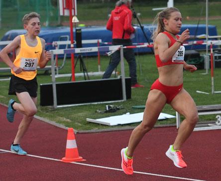 Julia Mayer laufen Wien Leichtathletik Dsg Wien Bahn track and field Österreich Bestleistung wlv