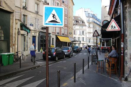 Rue du Cardinal Lemoine Paris 5eme