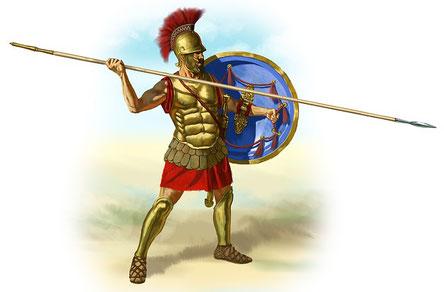 L'auteur compare la vie du chrétien à un combat qu'il doit livrer pour s'assurer une couronne immortelle. Nous sommes toujours ici-bas aux prises avec l'ennemi. Dans l'arène nous ne couronnons que l'athlète qui a vaillamment combattu.