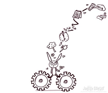 Grafik, Illustration STRESS - Judith Ganter Illustriertes Kopfkino für Alltagsoptimisten - Achtsamkeit Übungen, Stress abbauen, Druck im Alltag
