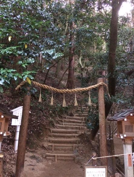 三輪山登山口(筆者撮影)