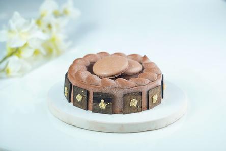 ピンクのバラのブーケ。