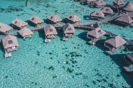 Overwater Bungalow Tahiti
