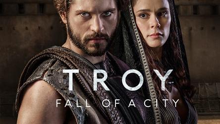 Troja fall einer stadt poster Serien review