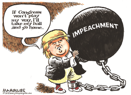"""""""Trump and impeachment"""", by Margulies, October 11, 2019"""