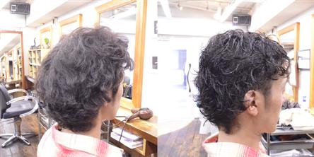 日吉美容院縮毛矯正-縮毛矯正専門美容師2