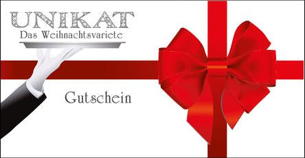 Geschenk-Gutschein UNIKAT-Das Weihnachtsvariete