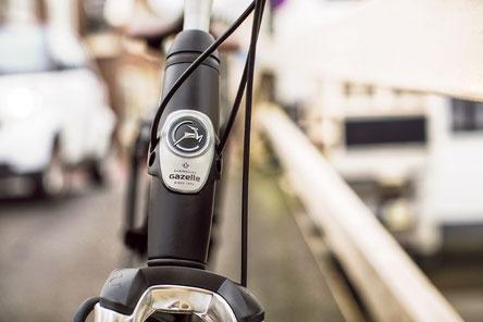 Gazelle e-Bikes und Pedelecs in der e-motion e-Bike Welt in Hamburg