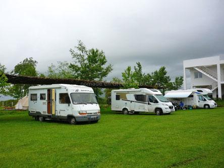 Au camping Lake Shkodra Resort