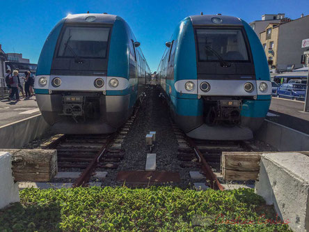 Gare ferroviaire de Saint-Gilles-Croix-de-Vie, terminus des T.E.R.