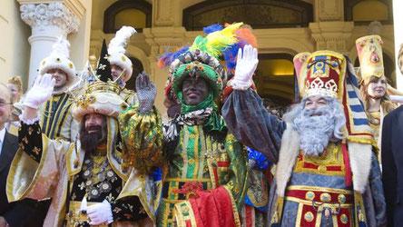 Fiestas en Malaga Cabalgata de Reyes