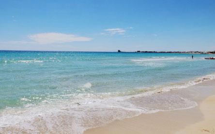 les pouilles plages - torre lapillo