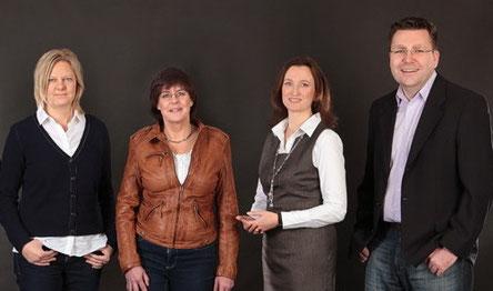 Jenny Ritter, Britta Ewert, Marianne Koschany-Rohbeck, Michael Mittler