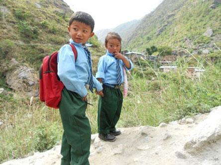 Schulprojekt in Nepal