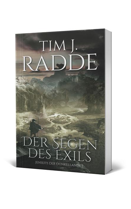 """Cover """"Der Segen des Exils"""""""
