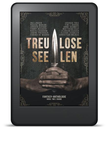 Cover Kurzgeschichtenanthologie Treulose Seelen