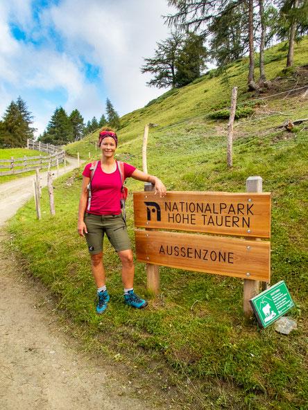 Der Nationalpark Hohe Tauern, in dem wir uns befinden, ist der größte Österreichs und der Alpen.