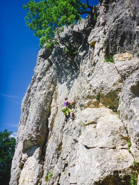 f59c3a4162d82b Klettern auf der Schwäbischen Alb - Wiesfels - Puls der Freiheit