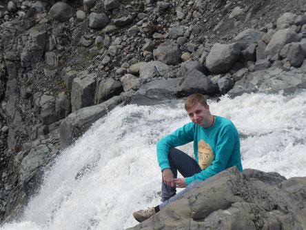 Nach 10 Monaten in Island ist Lorenz wieder zurück in Deutschland und berichtet begeistert über seine Zeit in Reykjavik (Foto: Monika Kießig)