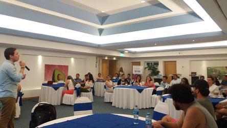 Una panoramica del salón de conferenicas del 11 y 12 de mayo en la Riviera Maya.