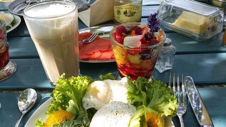Frühstück in der Prignitz. Foto: J. de Gruyter