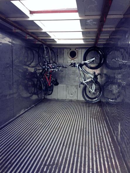Secure Bike Lock Up