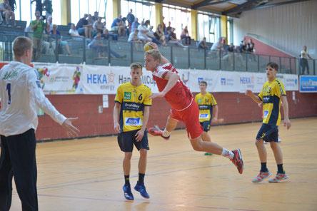 Friesenheim konnte den Vorrundenerfolg gegen die Junglöwen im Finale nicht wiederholen.