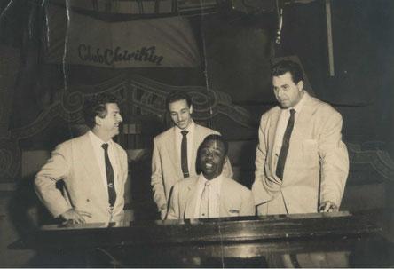 Roberto Faz, Rolito Rodríguez, Alberto Beltrán y Roberto Espí.