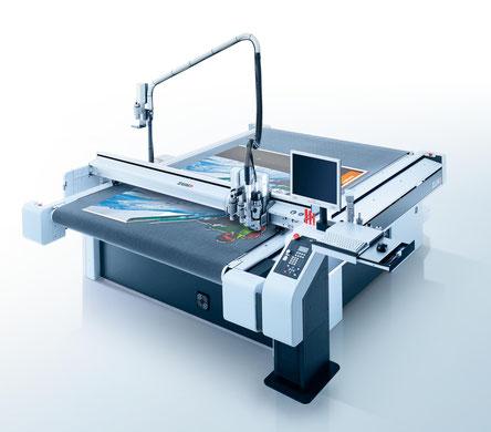 Zünd Fräsmaschine für Alu, PVC, Metall, Forex, Kunststoff, Acrylglas, Holz, Buchstaben, Logos, Schriften, Schilder