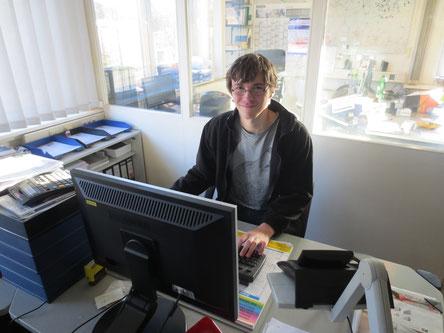 Markus Tarara ist der neue Praktikant von Heideglas Uelzen