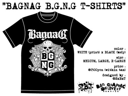 B.G.N.G T-SHIRTS