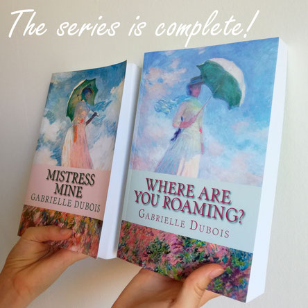 Where are you roaming historical fiction by Gabrielle Dubois author